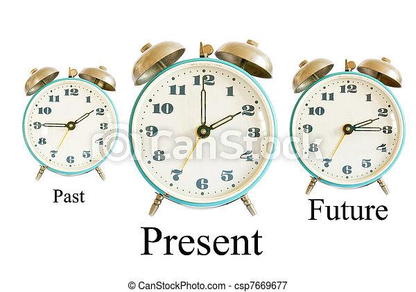 Past Present Future - csp7669677