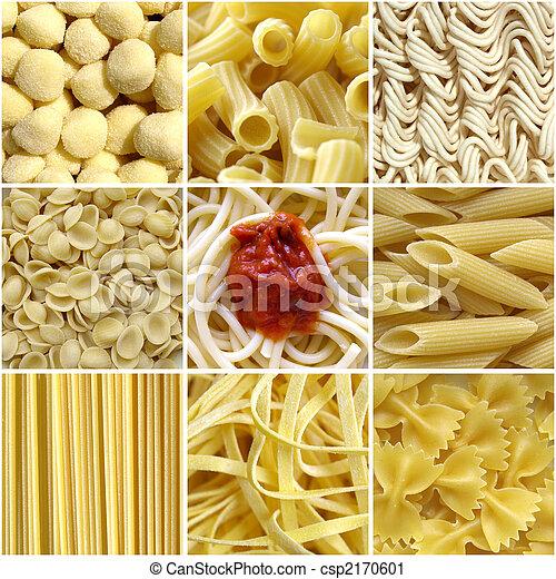 Pasta collage - csp2170601
