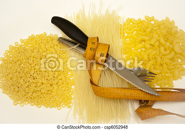 Pasta contains a considerable quantity of kcals - csp6052948
