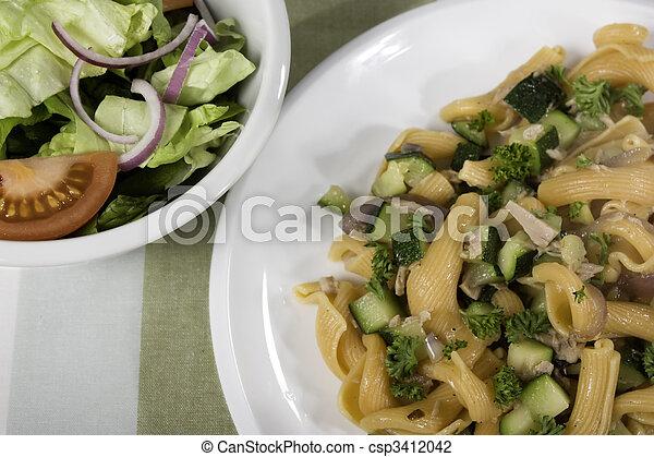 Pasta Dinner - csp3412042