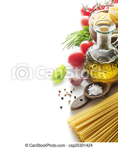 Pasta ingredients - csp25301424