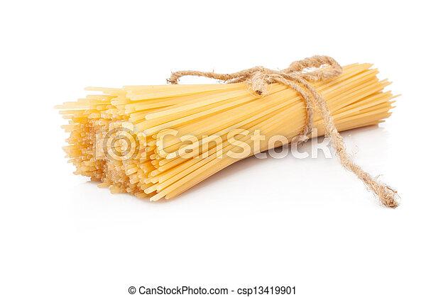 pastas, espaguetis - csp13419901