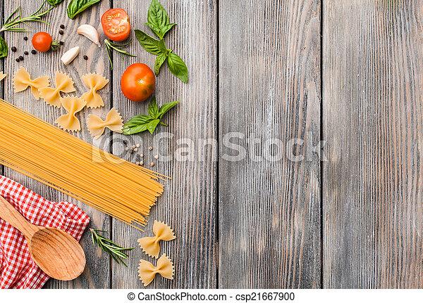 Pasta italiana - csp21667900