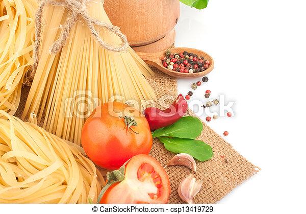 pastas, italiano - csp13419729