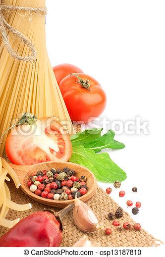 pastas, italiano - csp13187810