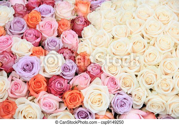 pastel fleurs rose mariage pastel fleur beaucoup illustration de stock rechercher. Black Bedroom Furniture Sets. Home Design Ideas
