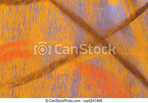 Pastel Grunge Background: Yellow Series - csp0247466