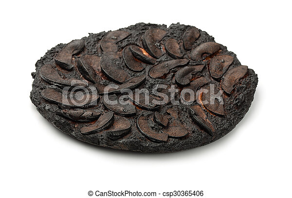 Pastel quemado - csp30365406