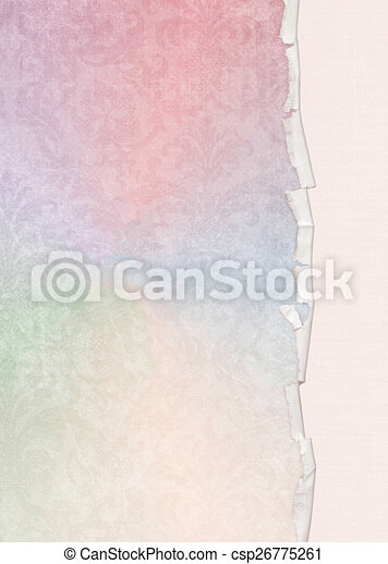 Pastel Rainbow Damask Pastel Rainbow Damask Background With Ragged