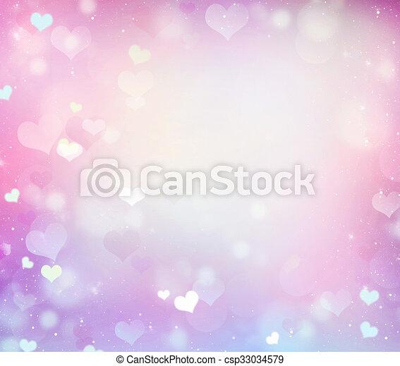 Pastel romantic pink wedding frame background. Soft pastel romantic ...