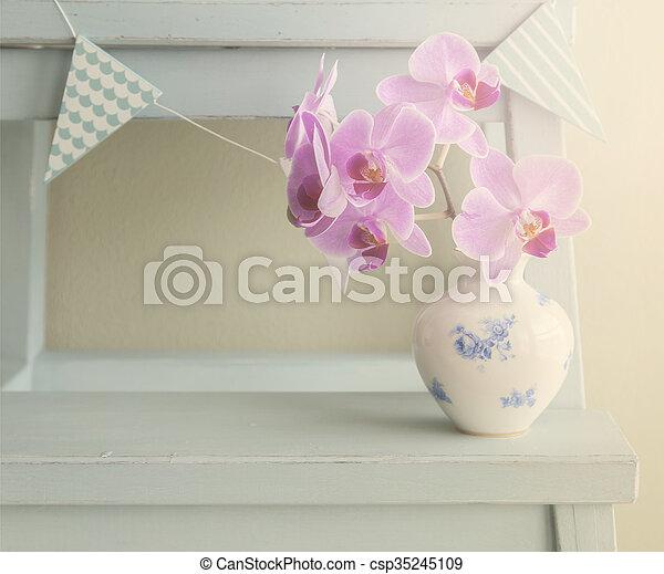 Pastel still life - csp35245109