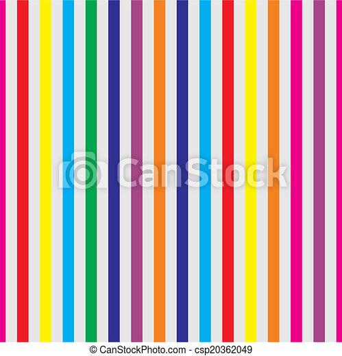Pastel Vector Stripes Wallpaper