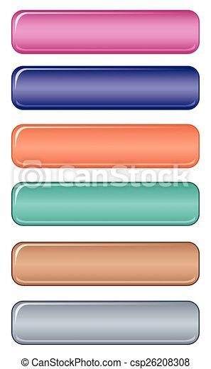Pastel web button - csp26208308