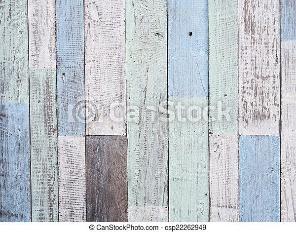Pastel wood wall texture - csp22262949