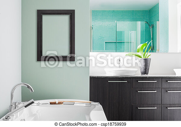 Colori Da Usare In Bagno : Pastello bagno moderno colori verde usando morbido pastello