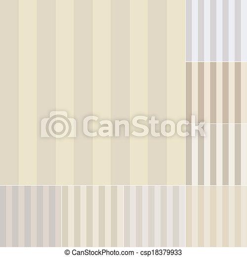 pastello, seamless, strisce verticali - csp18379933