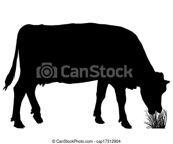 Vaca grasosa - csp17312904