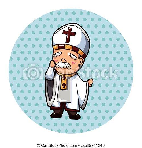 pastor theme elements - csp29741246