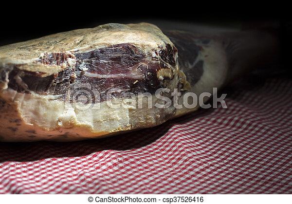 Pata Negra Ham - csp37526416