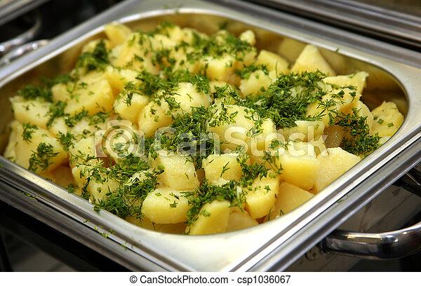 patata cucinata - csp1036067