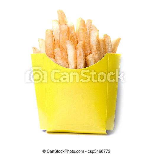 patate, profondo-fritto - csp5468773