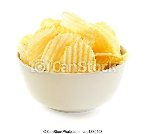 patatine fritte, patata - csp1339493