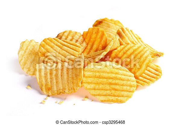 patatine fritte, patata - csp3295468