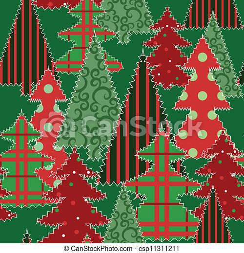 patchwork arbre no l tissu tissu patchwork arbre seamless fond no l. Black Bedroom Furniture Sets. Home Design Ideas