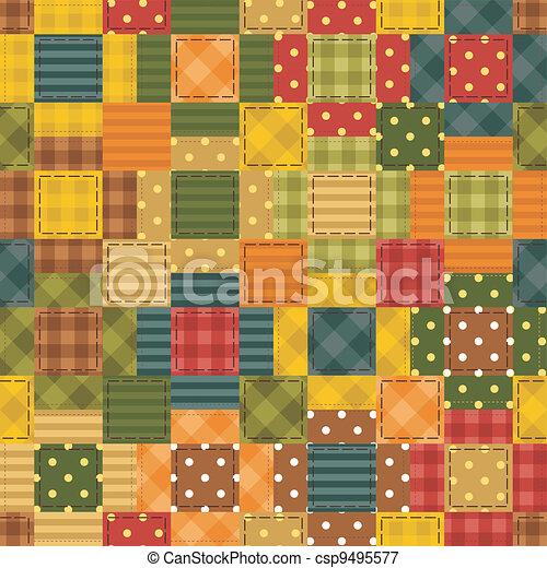 patchwork background  - csp9495577