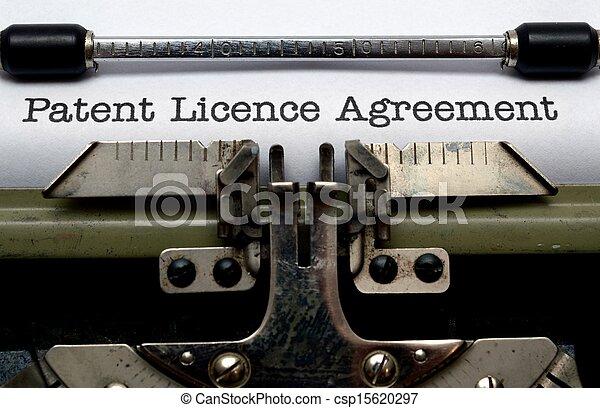 Patent Lizenz