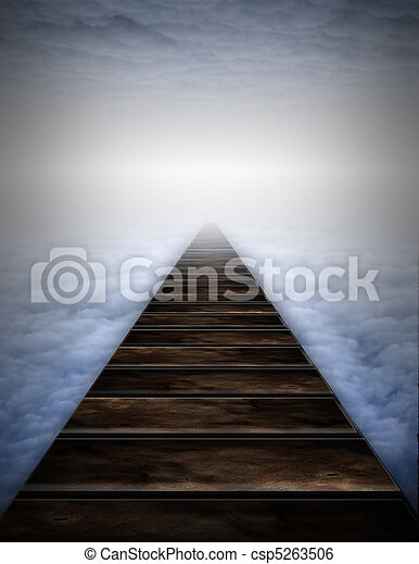 Path into clouds - csp5263506
