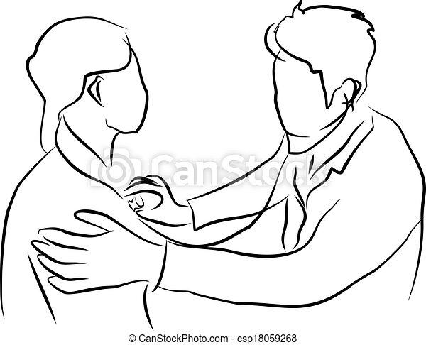 patient, docteur - csp18059268