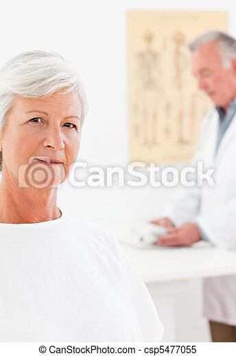 Patient looking at the camera - csp5477055