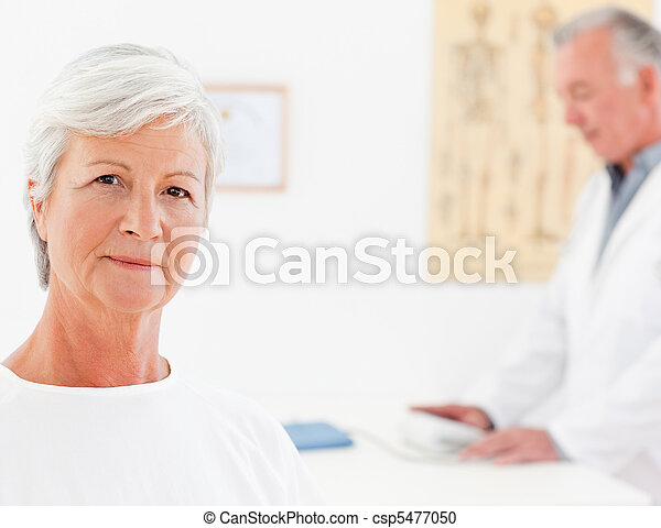 Patient looking at the camera - csp5477050
