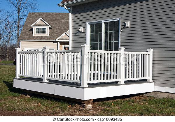 patio, ponte - csp18093435