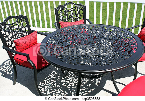 Patio Set - csp3595858