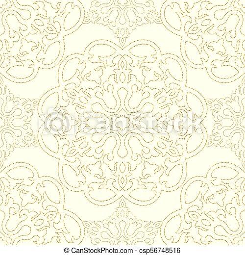 Patrón árabe sin costura - csp56748516