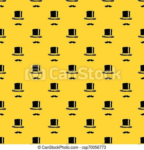 Cylinder y bigotes vector de patrones - csp70056773