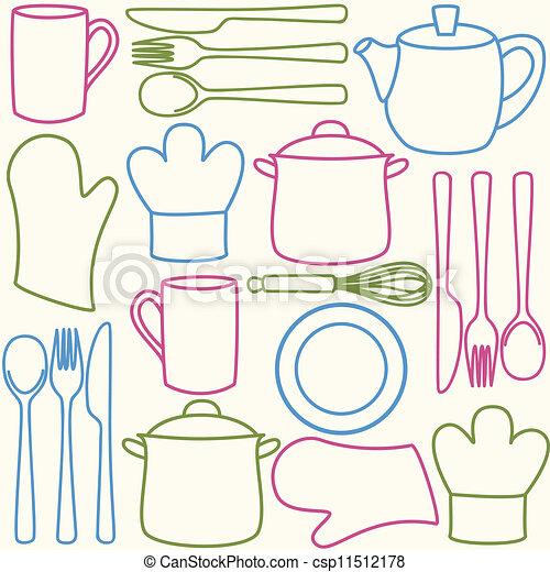 Nice Dibujos Utensilios De Cocina Photos Como Dibujar Utiles De