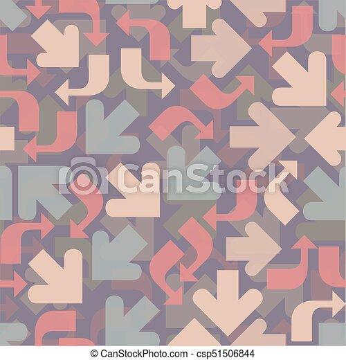Fondo de flechas sin color - csp51506844