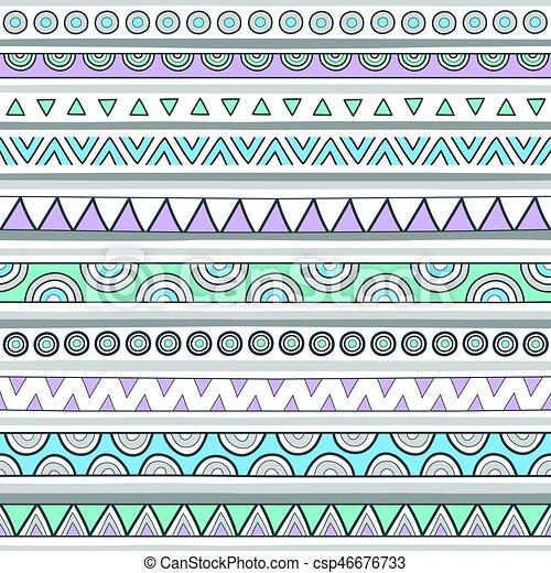 Un colorido fondo sin costura - csp46676733