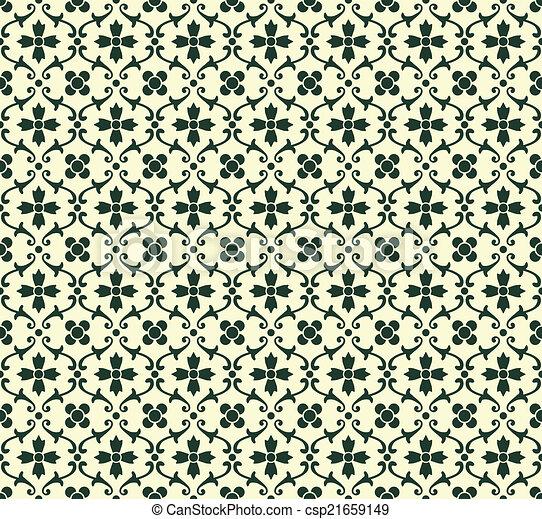 Patrón floral - csp21659149