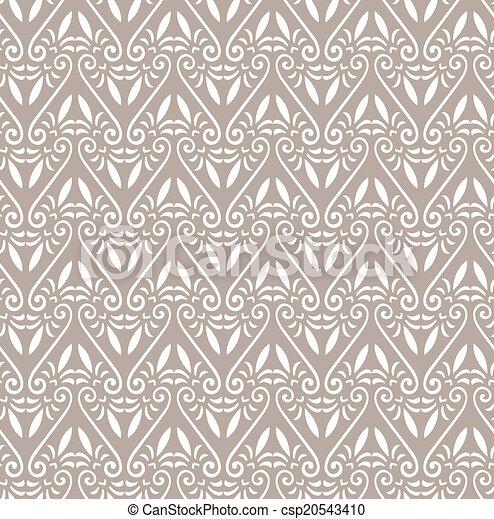 Patrón floral sin costura - csp20543410