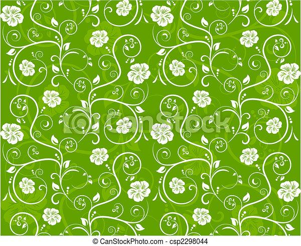 Patrón floral sin sentido - csp2298044