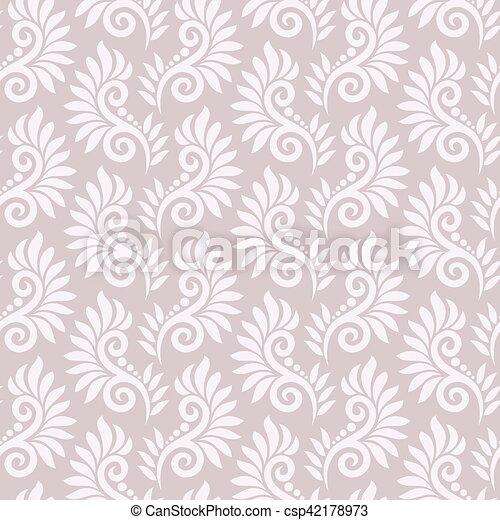 Patrón floral sin costura - csp42178973