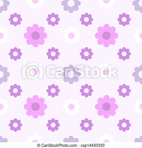 Patrón de flores - csp14430330