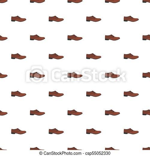 Los hombres no tienen marcas de zapatos. Los hombres calzan