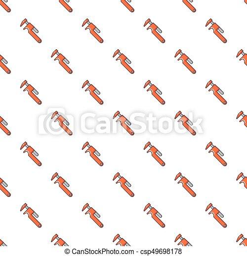 Patrón de llave ajustable sin costura - csp49698178