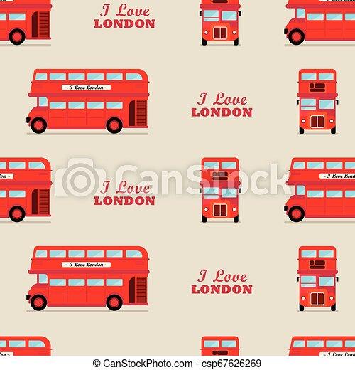 El autobús de Londres está perfecto - csp67626269