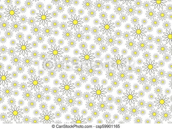 Trasfondo de Daisy - csp59901165
